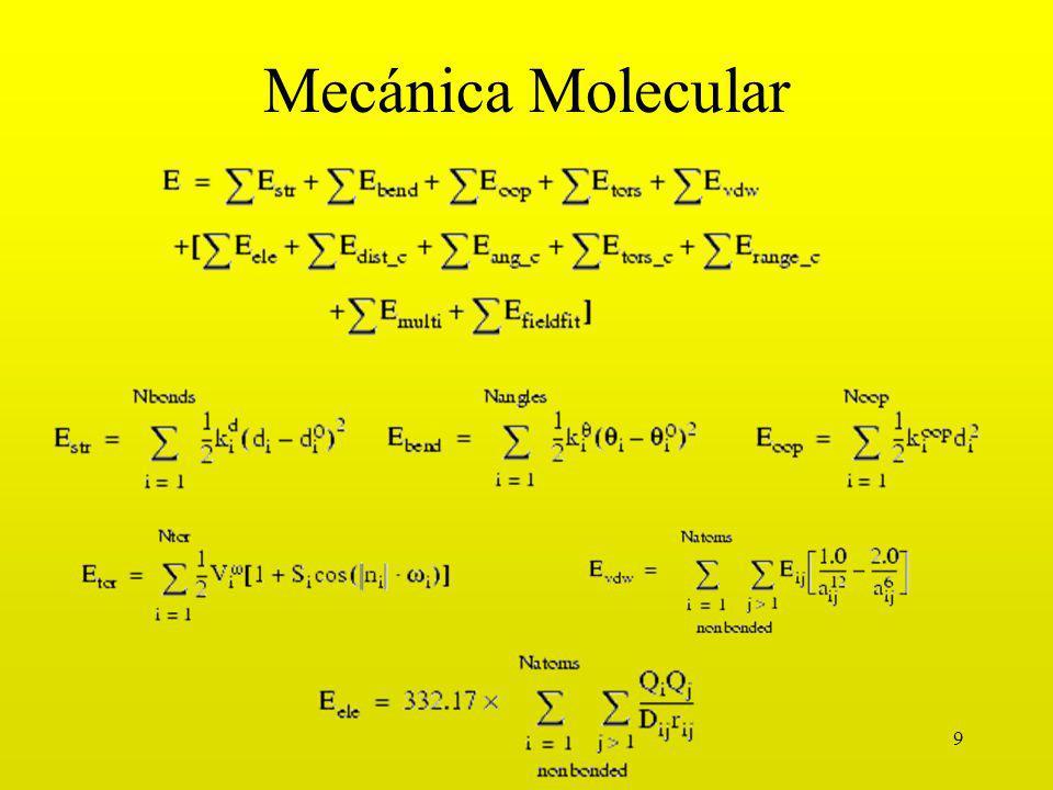 9 Mecánica Molecular