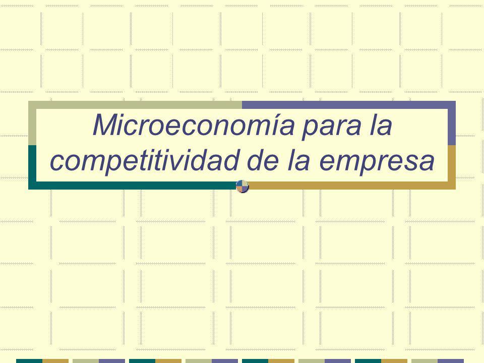 ¿Cuál es el reto más importante de la Empresa? La Competitividad