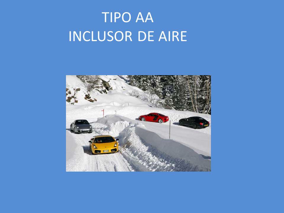 TIPO AA INCLUSOR DE AIRE