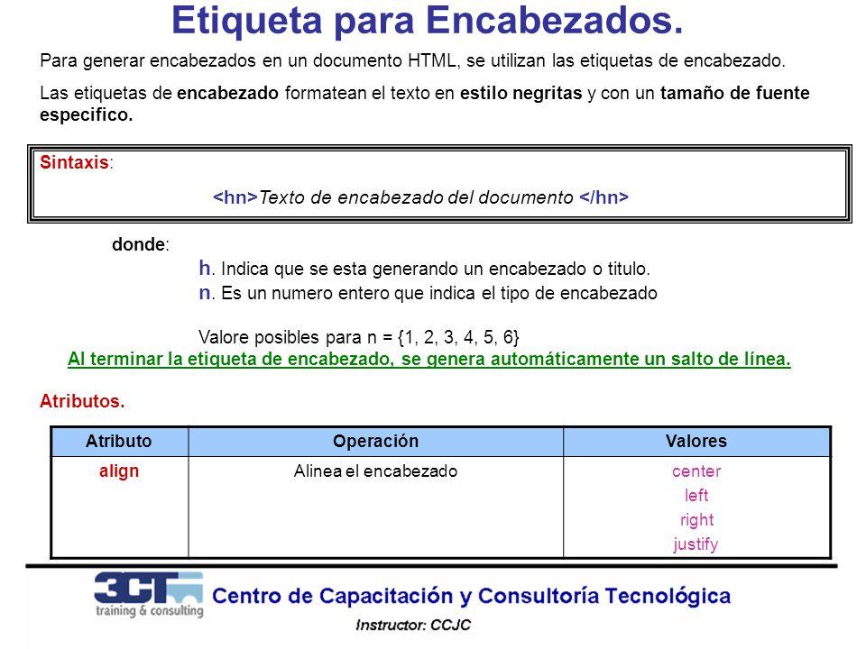 Texto en Cursivas.La etiqueta permite aplicar estilo cursivas al texto del documento HTML.