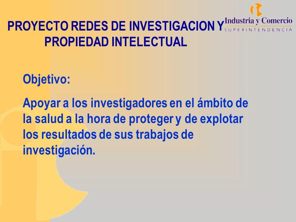 Objetivo: Apoyar a los investigadores en el ámbito de la salud a la hora de proteger y de explotar los resultados de sus trabajos de investigación. PR