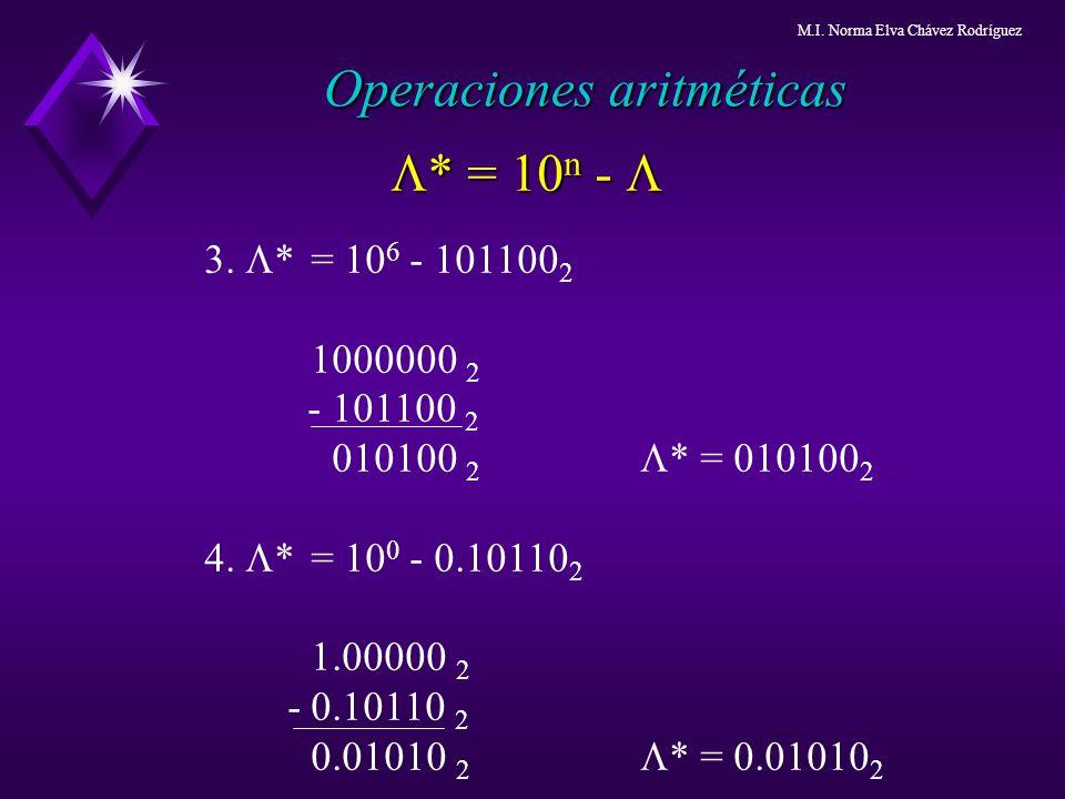 3. * = 10 6 - 101100 2 1000000 2 - 101100 2 010100 2 * = 010100 2 4. * = 10 0 - 0.10110 2 1.00000 2 - 0.10110 2 0.01010 2 * = 0.01010 2 * = 10 n - * =