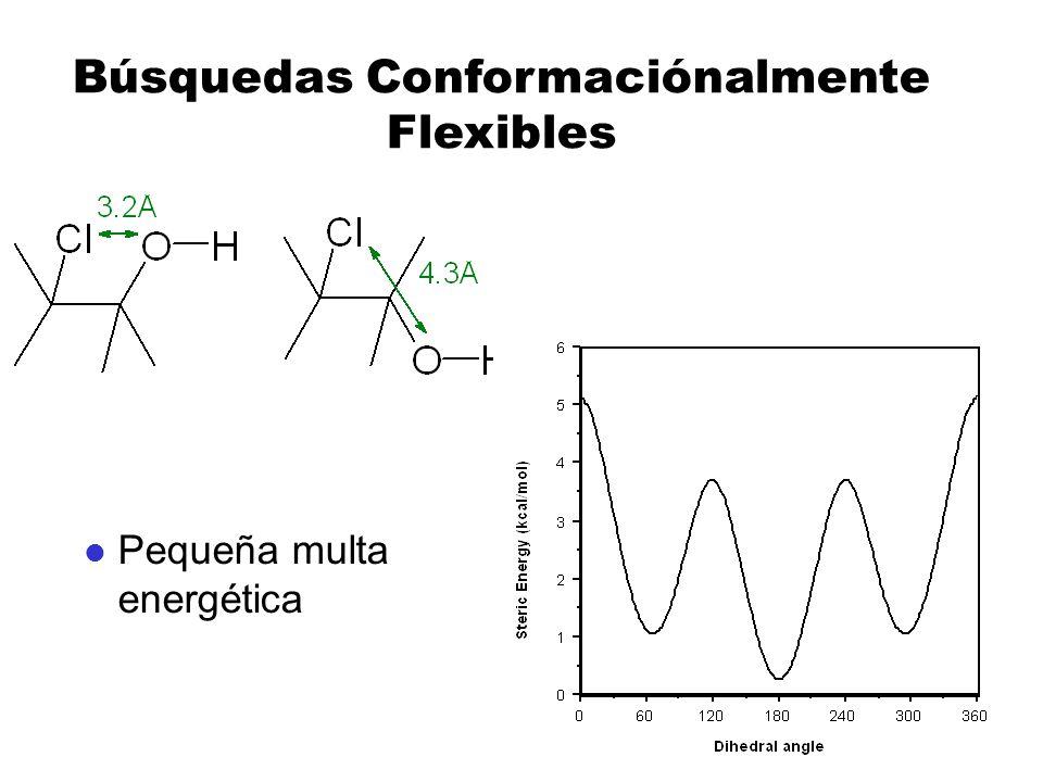 Búsquedas Conformaciónalmente Flexibles l Pequeña multa energética