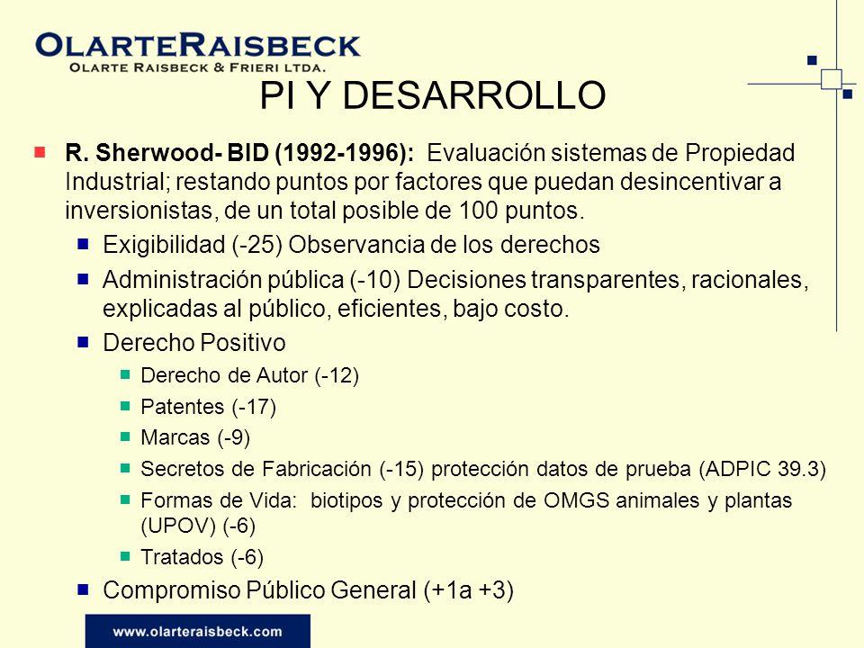 PI Y DESARROLLO R.