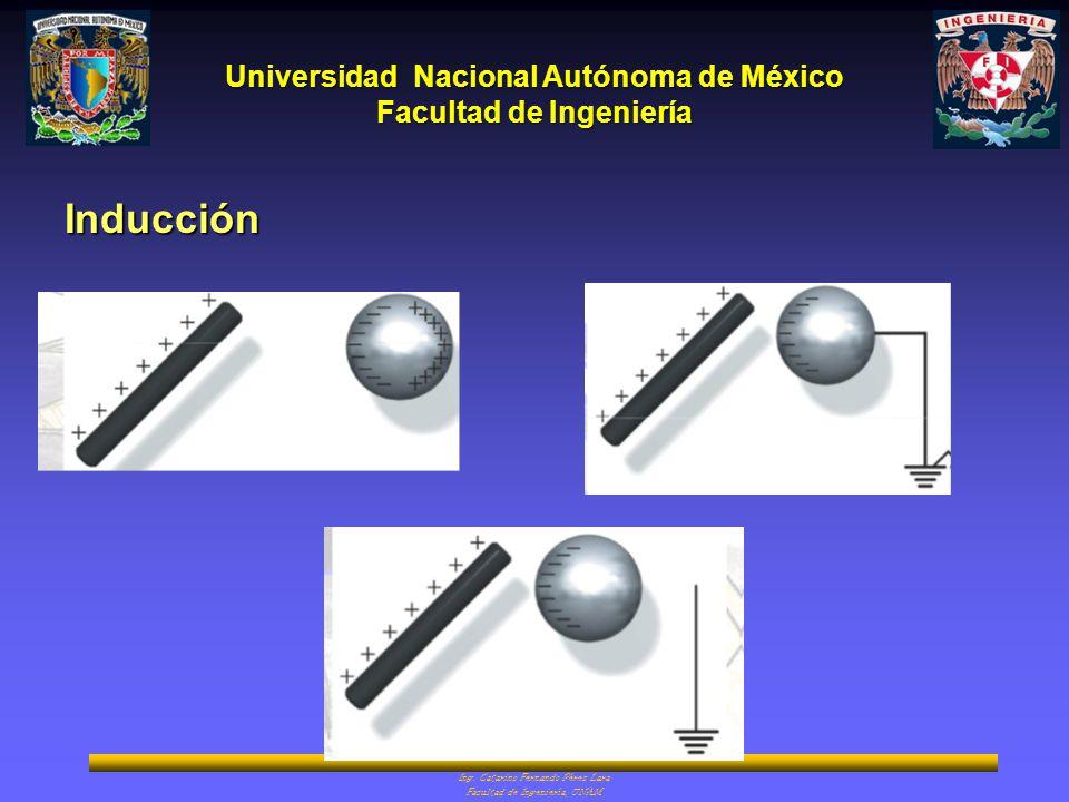 Universidad Nacional Autónoma de México Facultad de Ingeniería Ing. Catarino Fernando Pérez Lara Facultad de Ingeniería, UNAM Inducción