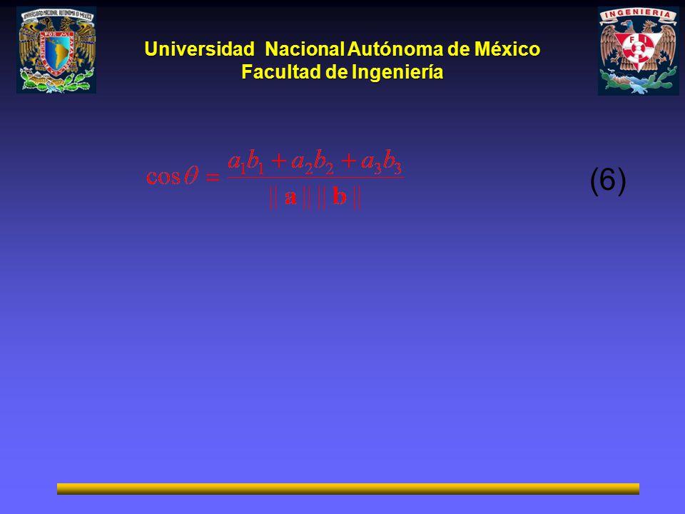 Universidad Nacional Autónoma de México Facultad de Ingeniería (6)