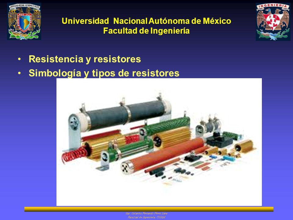 Universidad Nacional Autónoma de México Facultad de Ingeniería Ing.