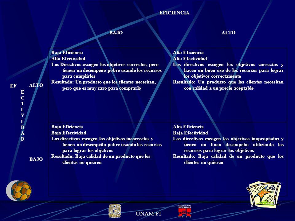 UNAM-FI ¿Cómo lograr una Dirección altamente eficiente y efectiva.