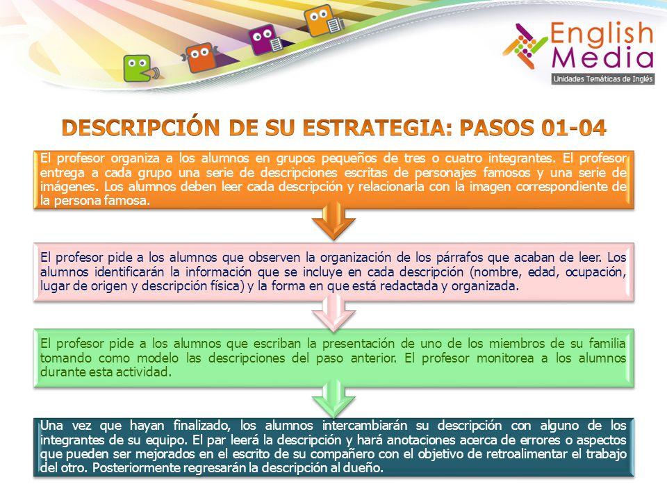 Se repetirá el proceso de revisión y corrección de pares y por parte del profesor.