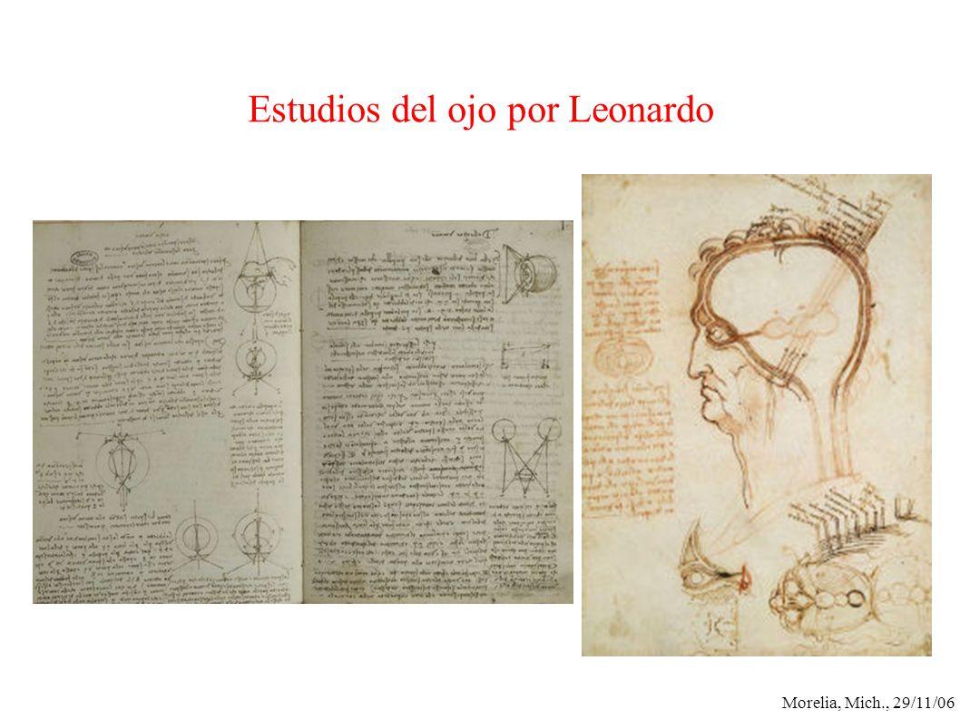 Morelia, Mich., 29/11/06 Estudios del ojo por Leonardo