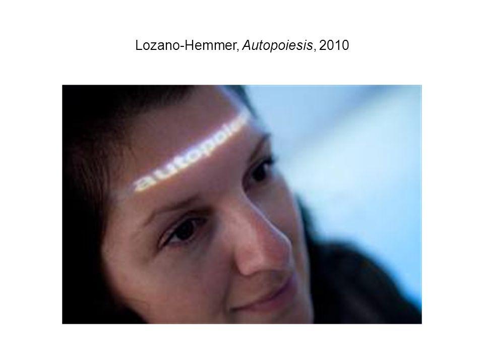 Lozano-Hemmer, Autopoiesis, 2010