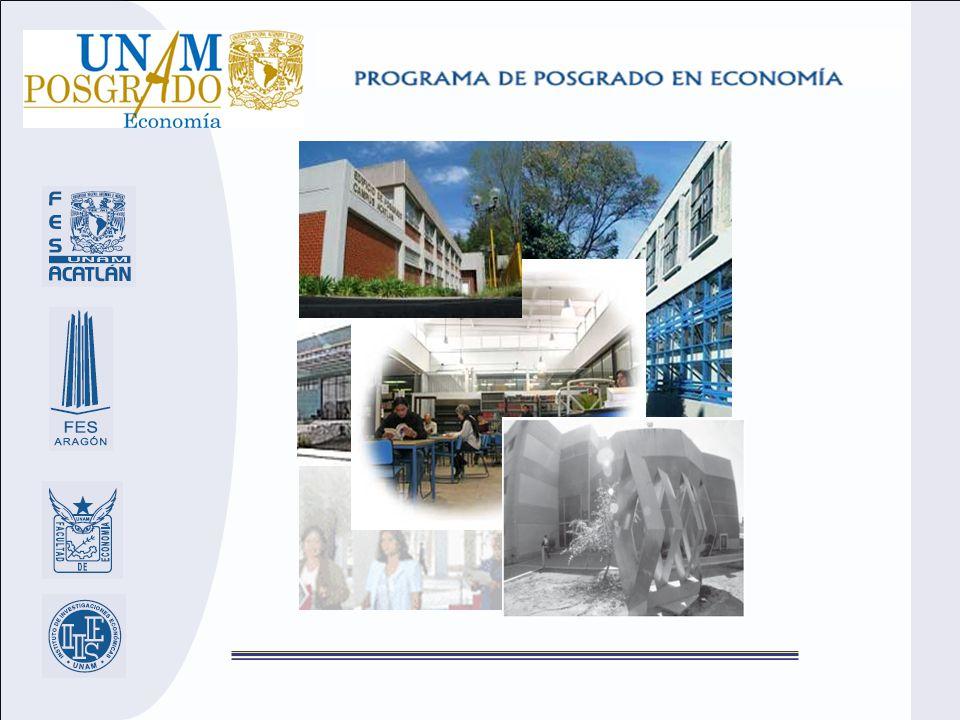 Flexibilidad del plan de estudios de maestría El alumno podrá cursar hasta el 50 por ciento de los créditos en otros posgrados, dentro y fuera de la UNAM, incluidas universidades del exterior.