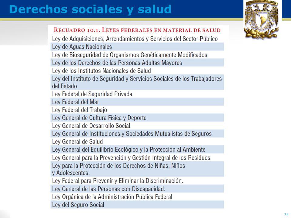 74 Derechos sociales y salud