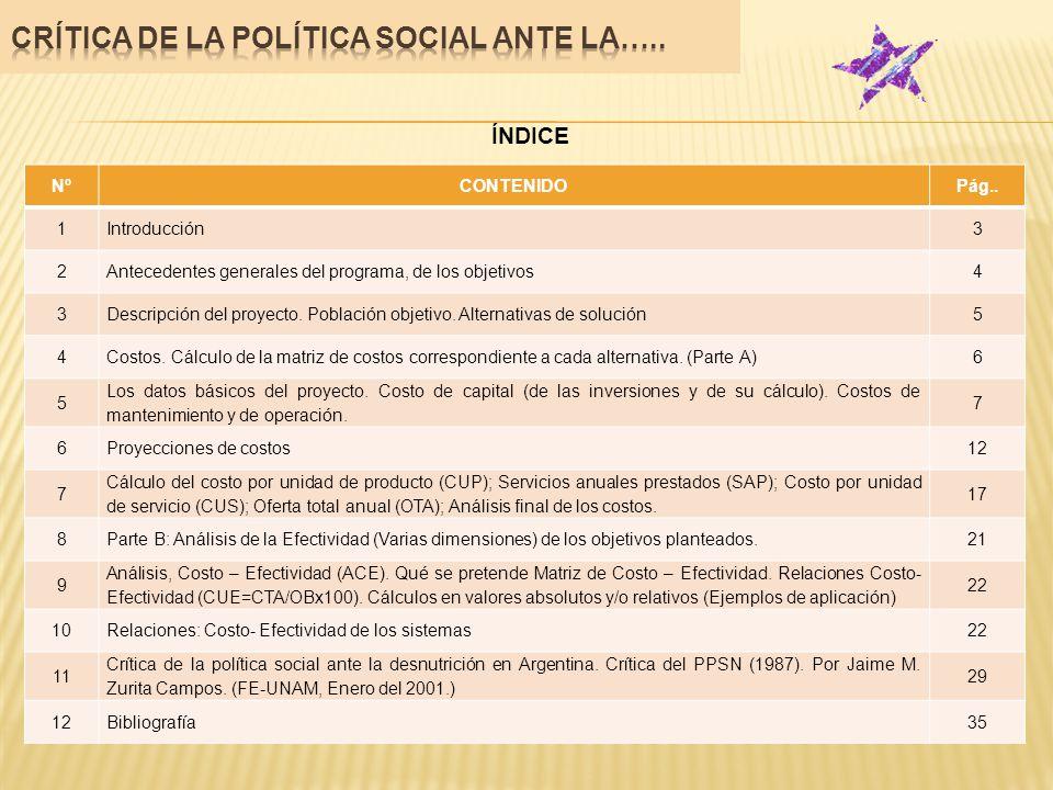 INTRODUCCIÓN El presente documento tiene como objetivo comentar y criticar la obra: Evaluación de Proyectos Sociales de Ernesto Cohen y Rolando Franco.