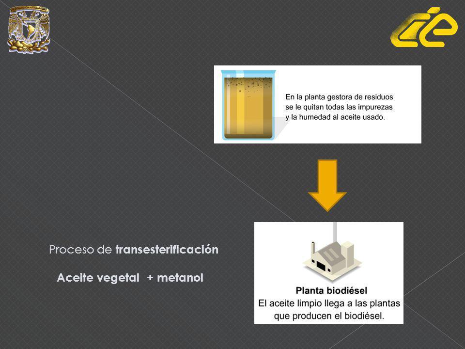 Biodiesel Ventajas Mas lubricante Emisiones contaminantes 55% menores No contiene hidrocarburos aromáticos poli cíclicos Emisión de CO2 neutra