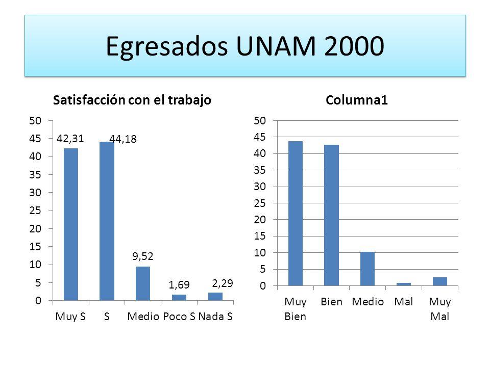 Egresados UNAM 2000