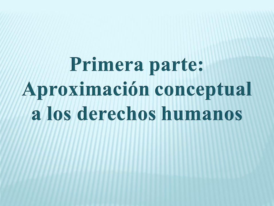 ¿Es lo mismo? Derechos humanos Derechos fundamentales Garantías (individuales, constitucionales)
