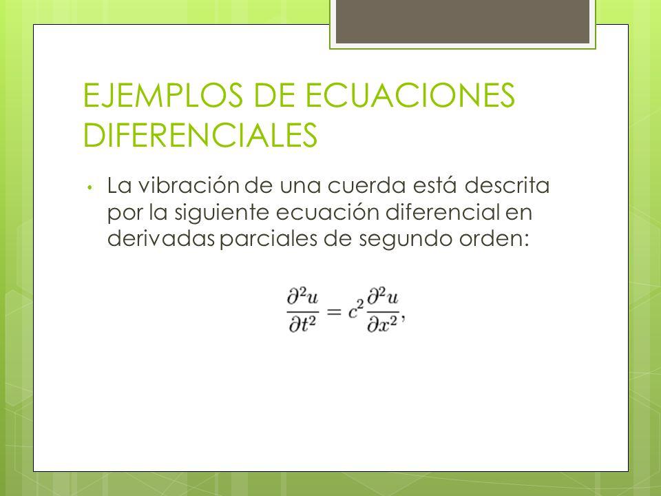 Dependiendo del número de variables que inter vienen en la ecuación diferencial se pueden distinguir dos tipos: Ecuaciones diferenciales ordinarias : aquellas que contienen derivadas de una variable dependiente con respecto a una sola variable independiente.