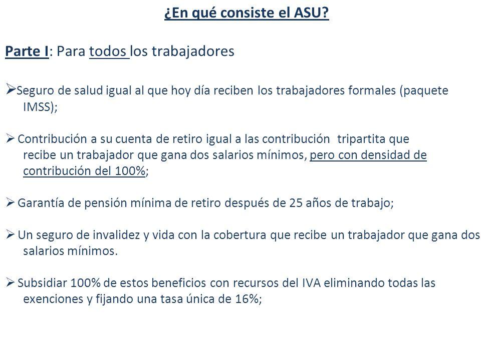 ¿En qué consiste el ASU.