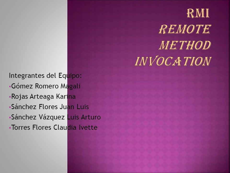 Integrantes del Equipo: Gómez Romero Magali Rojas Arteaga Karina Sánchez Flores Juan Luis Sánchez Vázquez Luis Arturo Torres Flores Claudia Ivette