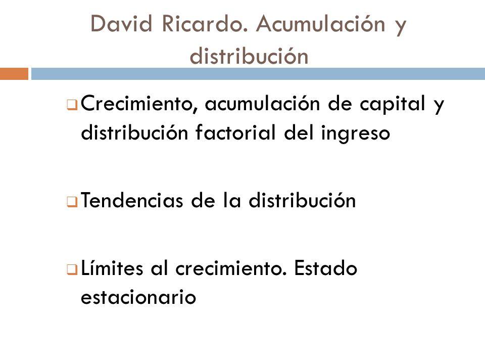 David Ricardo.