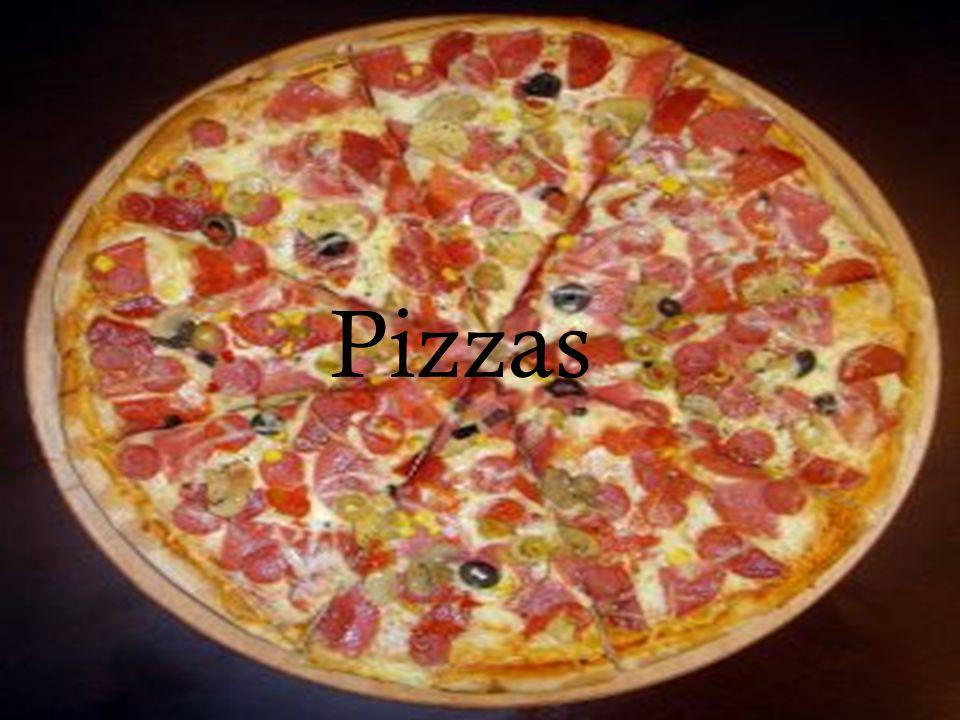 Pizzas en Italia Las pizzas fueron inventadas alrededor de 400 a.c.
