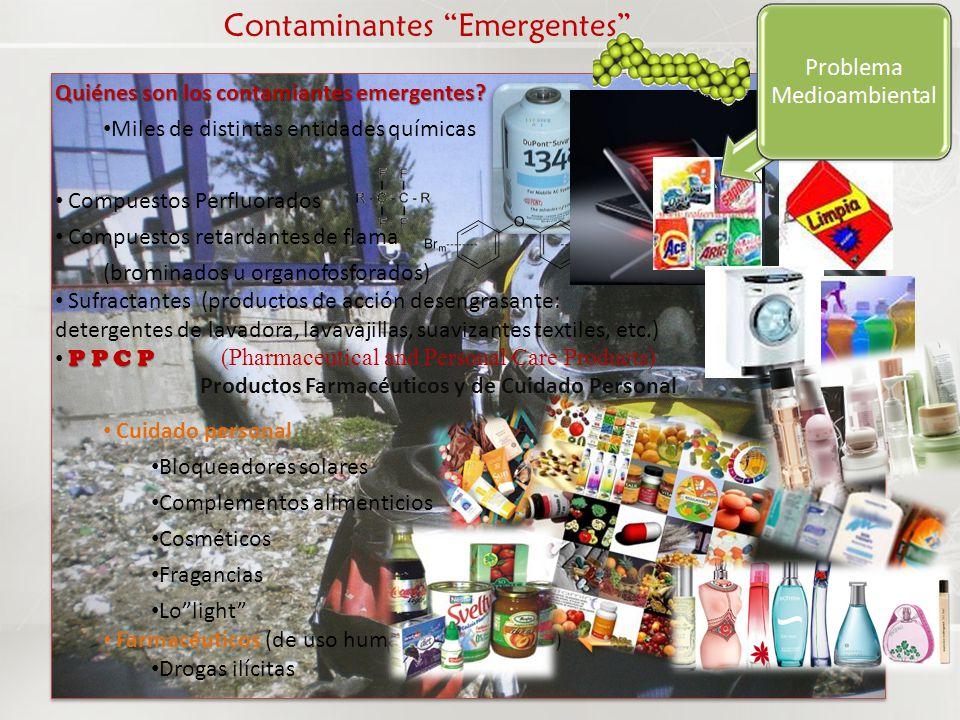 Contaminantes Farmacéuticos Han tenido una alta visibilidad mediática (en Europa y EUA)