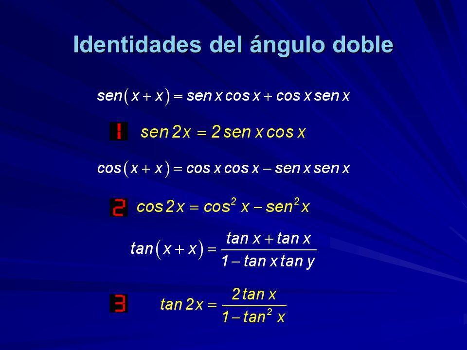 Identidades del ángulo doble
