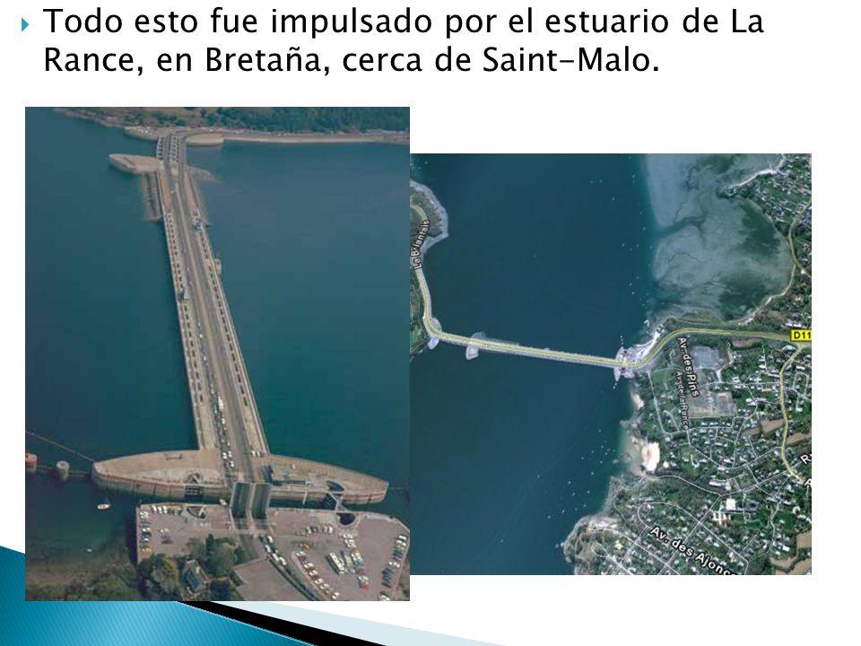 Está ubicada en el río Annápolis, en la frontera (USA-Canadá); la amplitud máxima de la marea puede alcanzar 15 metros.