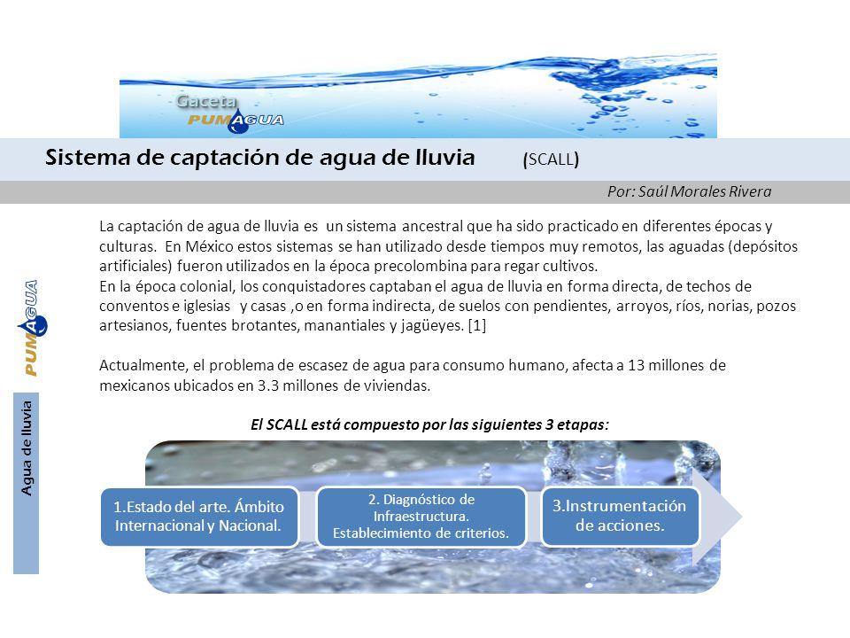 Agua de lluvia GacetaGaceta La captación de agua de lluvia es un sistema ancestral que ha sido practicado en diferentes épocas y culturas. En México e