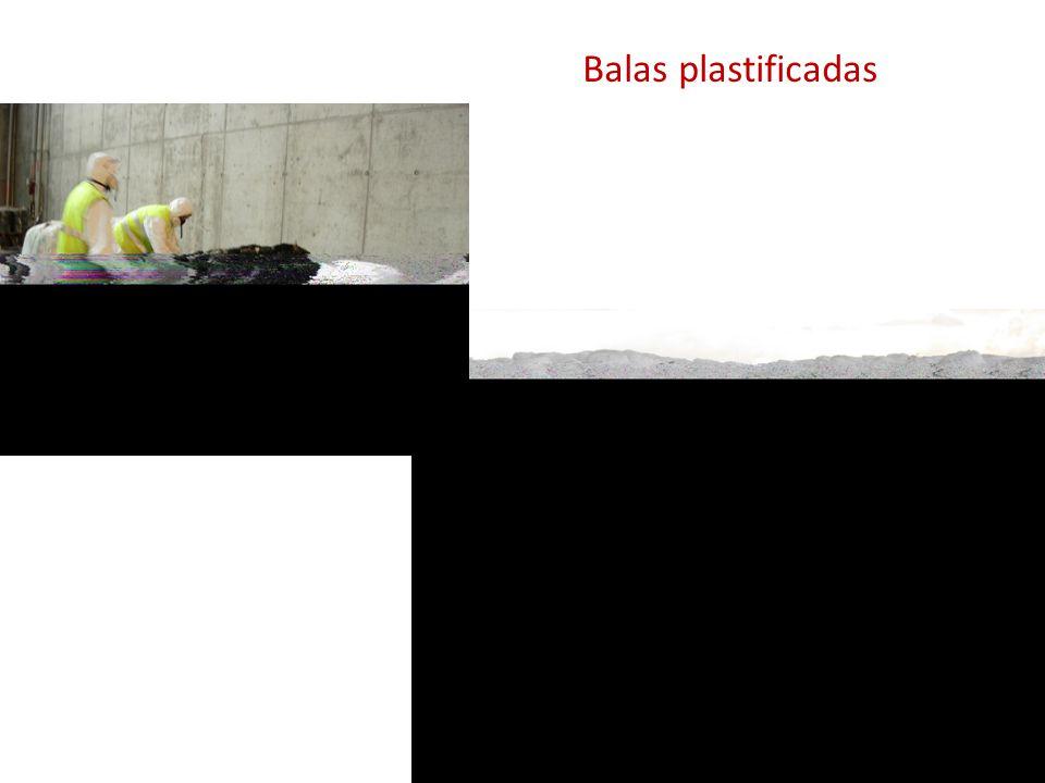 Balas plastificadas