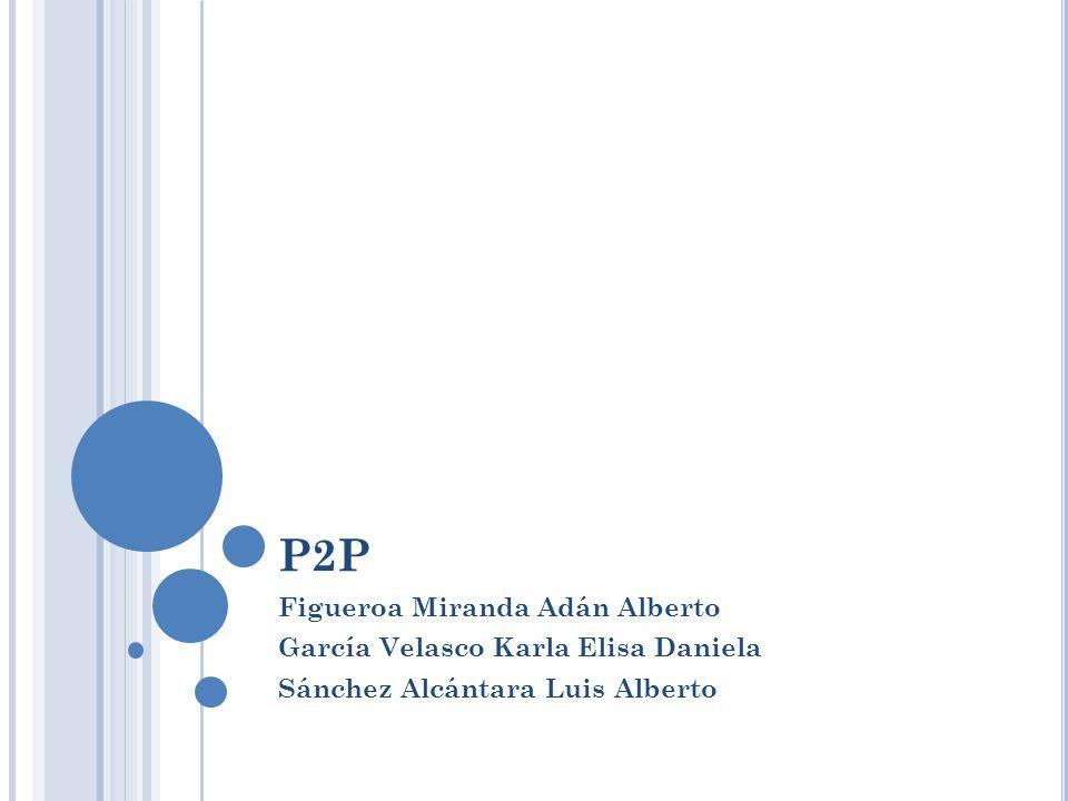 P2P Figueroa Miranda Adán Alberto García Velasco Karla Elisa Daniela Sánchez Alcántara Luis Alberto