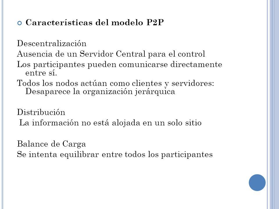 P ROTOCOLO G NUTELLA Y SERVICIOS P2P Compartir archivos en Internet se ha transformado en algo muy popular.