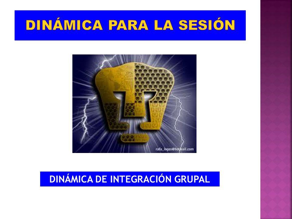 DINÁMICA DE INTEGRACIÓN GRUPAL