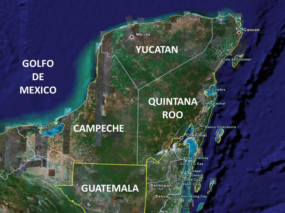 -Poco más de 700 mil habitantes -Extensión aproximada de 56,000 Km 2 -Comunidades indígenas -Comunidades con alta marginación -Zona prioritaria de extracción de petróleo -Predominan las actividades primarias -Ecosistemas diversos y conservados Características de Campeche