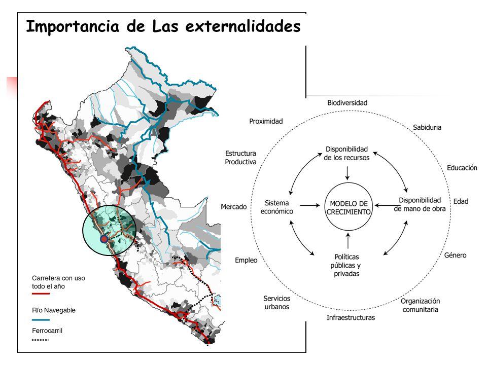 ¿ Se caracteriza La agricultura peruana por sus ecosistemas ? Importancia de Las externalidades