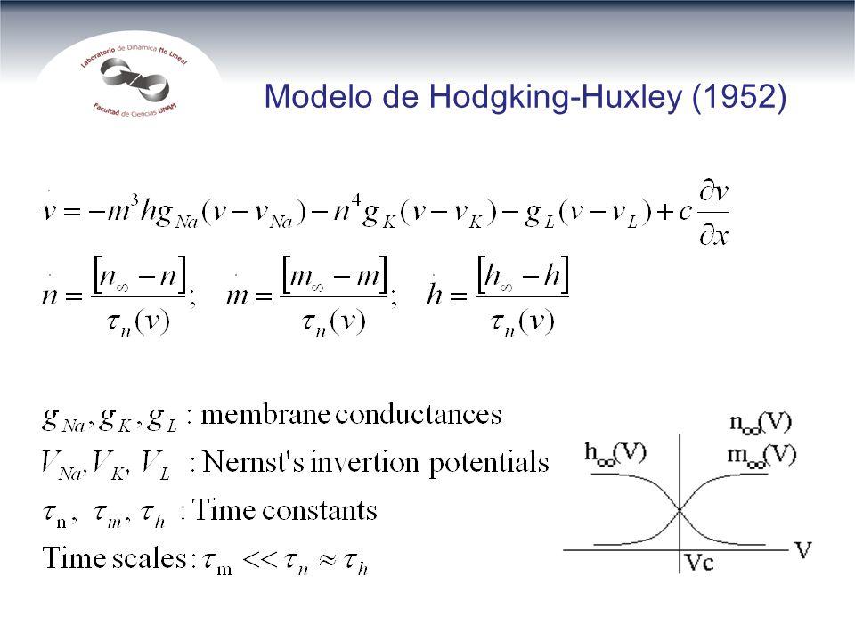 Modelo de Hodgking-Huxley (1952)