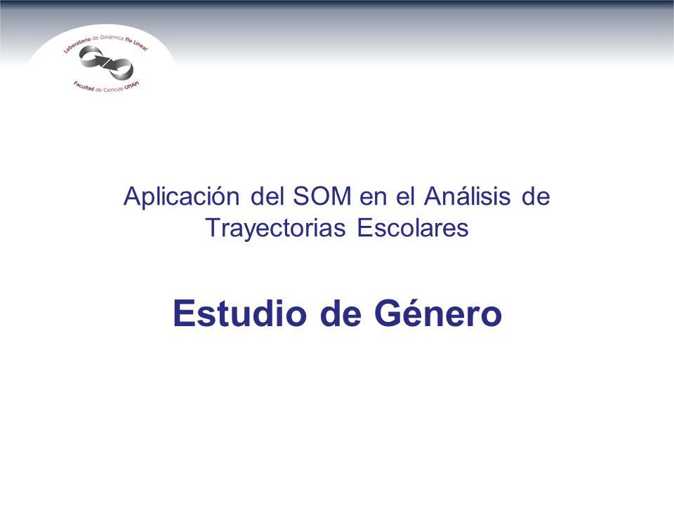 Aplicación del SOM en el Análisis de Trayectorias Escolares Estudio de Género
