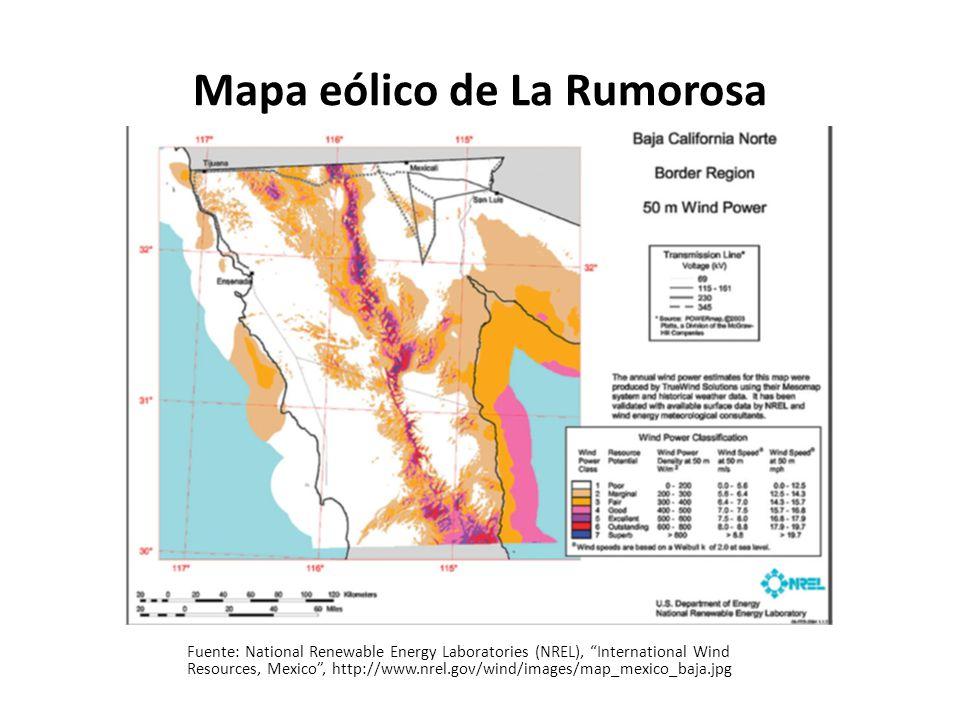 Energía solar En cuanto a proyectos de concentración solar, el Noroeste de México se ubica en una de las regiones con mayor índice de radiación solar.
