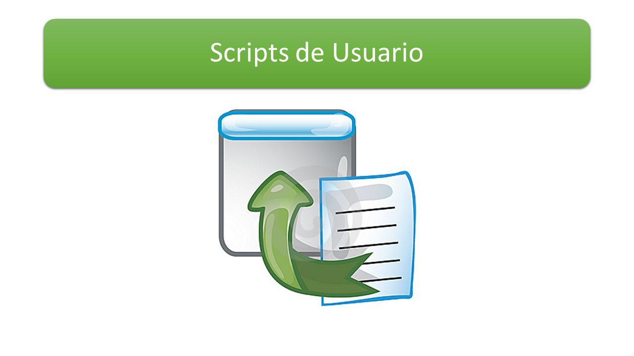 Scripts de Usuario