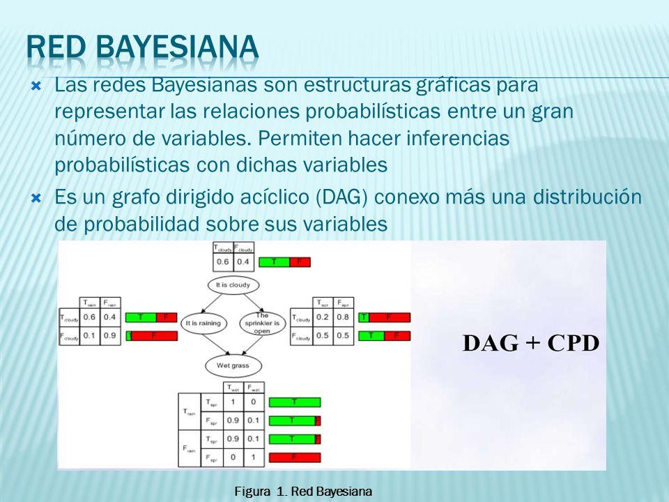 Las redes Bayesianas son estructuras gráficas para representar las relaciones probabilísticas entre un gran número de variables. Permiten hacer infere