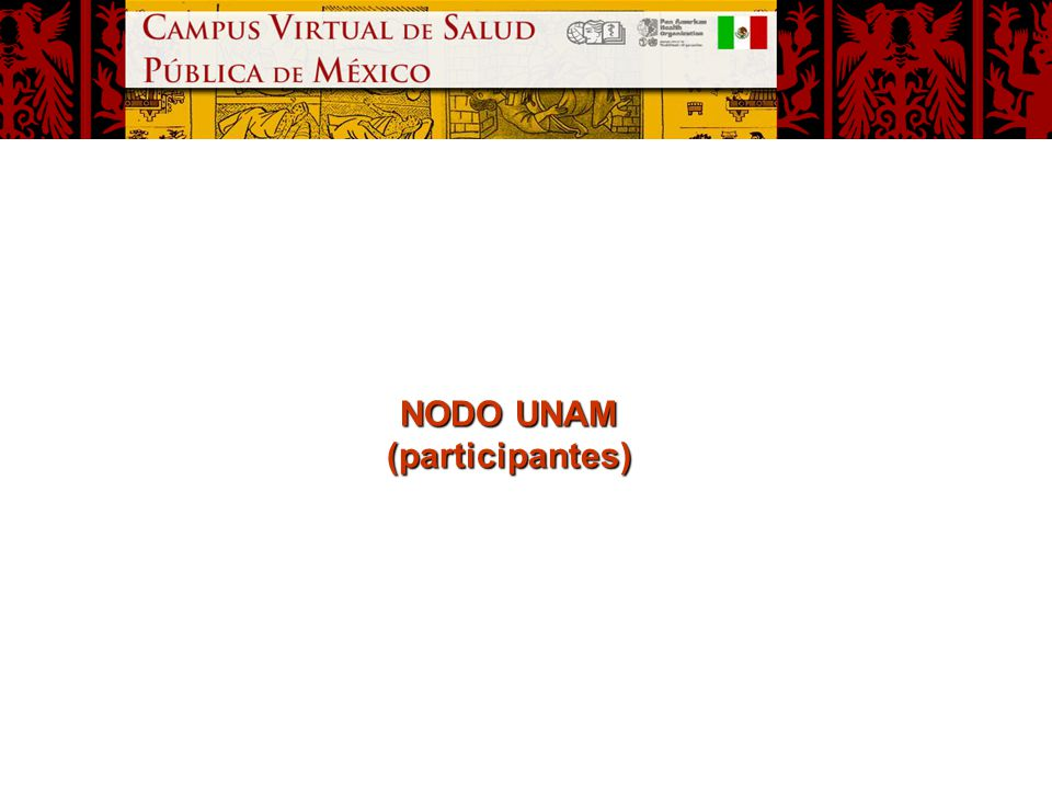 NODO UNAM (participantes)