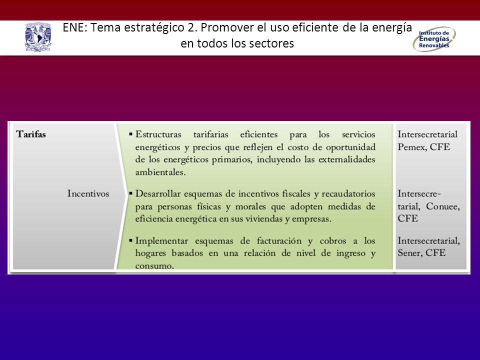 ENE: Tema estratégico 8.