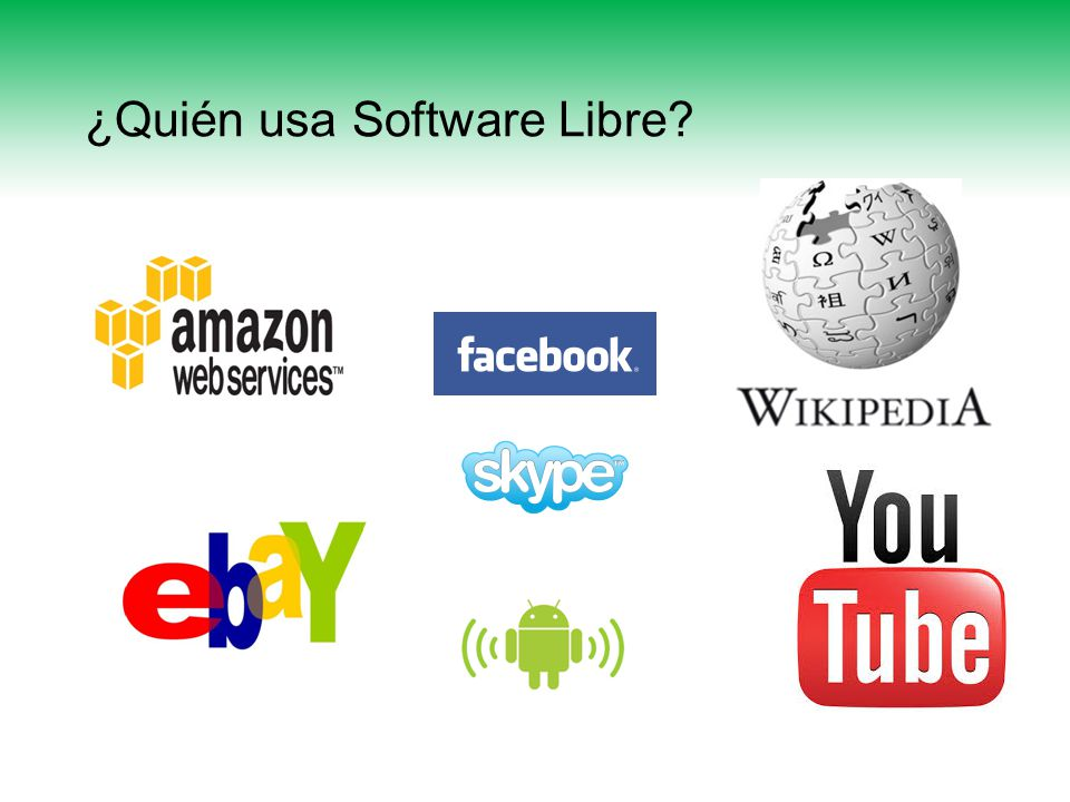 Open Source Software (OSS) Software de Código Abierto