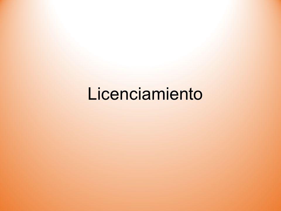 Licenciamiento