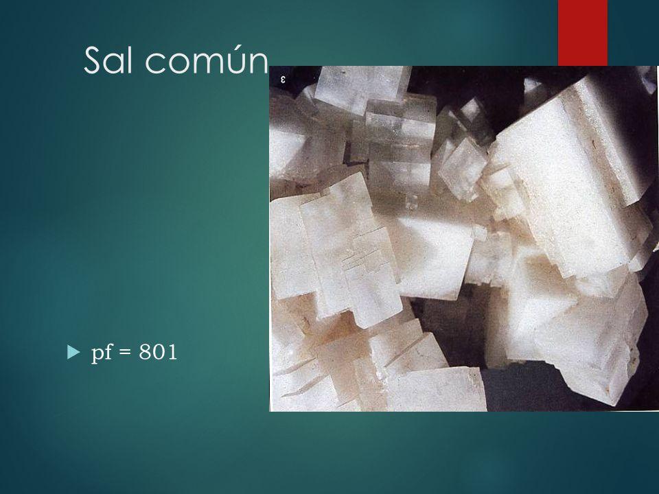 Sal común pf = 801