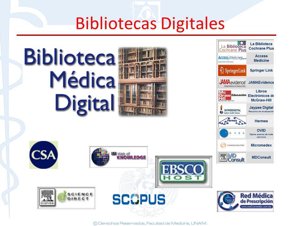 Bibliotecas Digitales