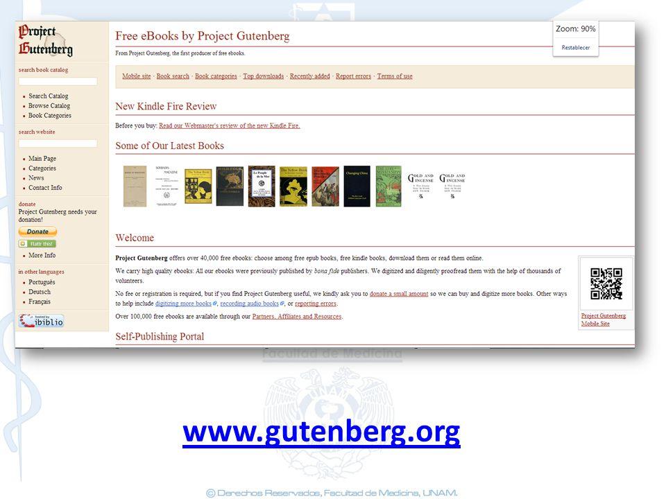 www.gutenberg.org