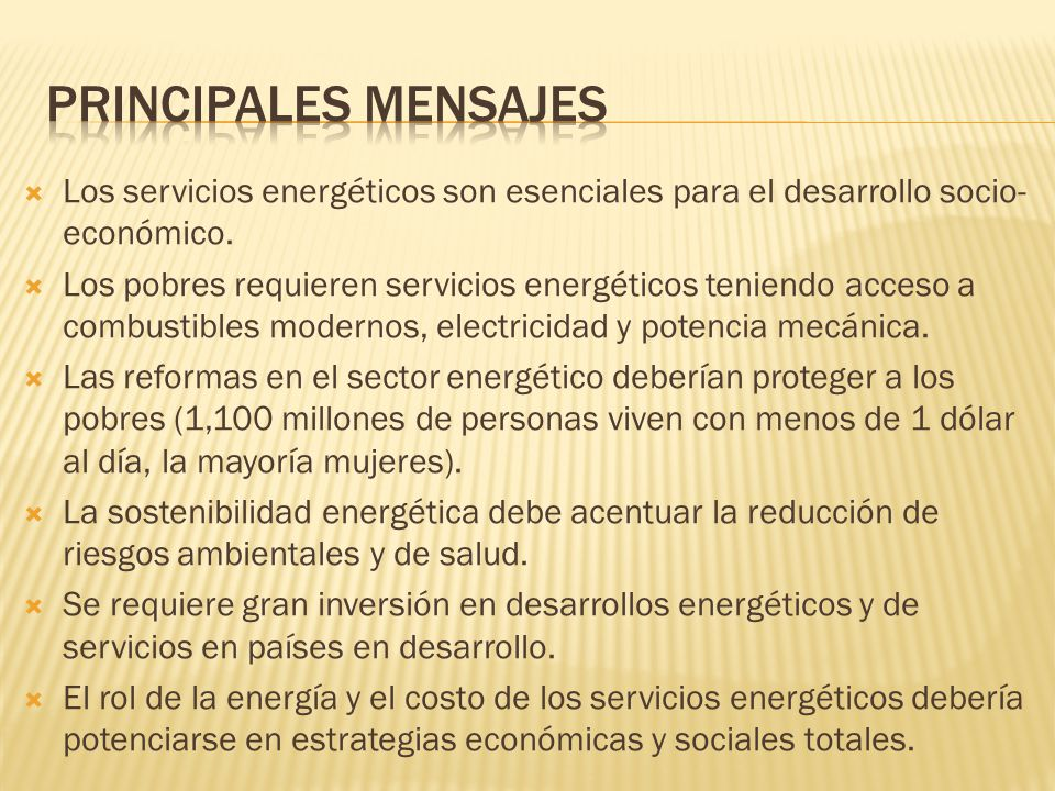 Conexión entre la planeación energética y las metas y prioridades en otros sectores y las políticas de sostenibilidad.