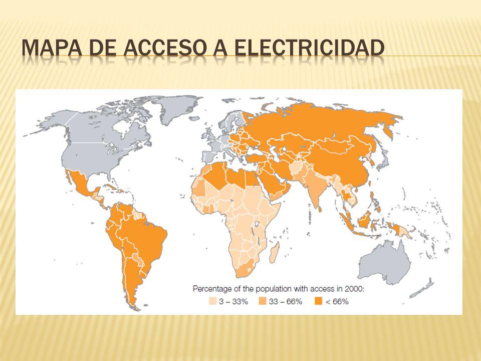 Extender el acceso a los servicios de energía.